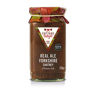 Cottage Delight Old Yorkshire Chutney with Real Ale