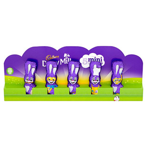 Cadbury Hollow Bunny 5 Pack