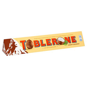 Toblerone Coconut
