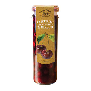 Cottage Delight Cherries in Light Syrup & Kirsch