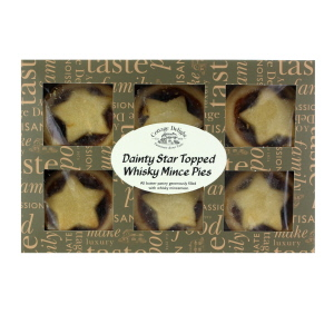 Cottage Delight Dainty Mince Pies Star Topped Whisky