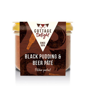 Cottage Delight Black Pudding Pate with Beer