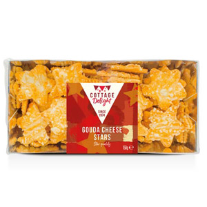 Cottage Delight Gouda Cheese Stars