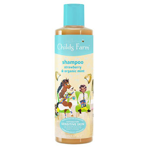 Childs Farm Shampoo For Luscious Locks Strawberry & Organic Mint