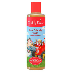 Childs Farm Hair & Body Wash For Dirty Rascals Organic Sweet Orange