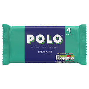 Polo Spearmint 4 Pack
