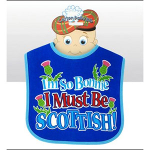 I'm So Bonnie I Must Be Scottish Bib