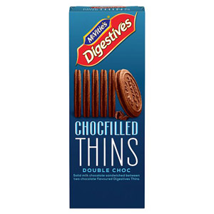 Mcvities Double Choc Digestive Thins