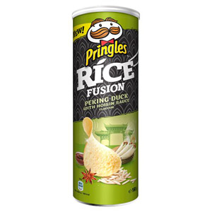 Pringles Rice Fusion Peking Duck with Hoisin Sauce Flavour