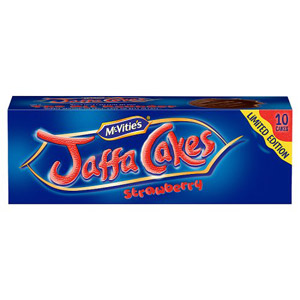 Jaffa Cakes Strawberry 10 Pack