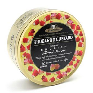 Simpkins Rhubarb & Custard Travel Sweets