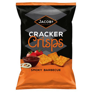 Jacobs Cracker Crisps Smokey BBQ Flavour