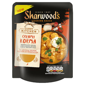 Sharwoods Curry Kitchen Creamy Korma