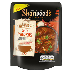Sharwoods Curry Kitchen Spicy Madras