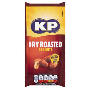 KP Dry Roasted Peanuts Small Pack