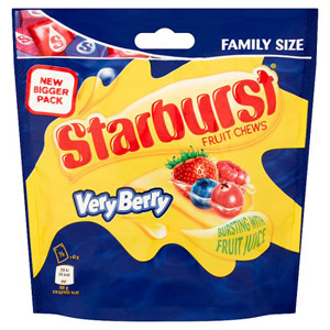 Starburst Fruity Chews Very Berry Pouch