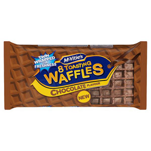 Mcvities Chocolate Toasting Waffles 8 Pack