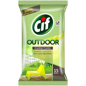 Cif Outdoor Furniture Wipes 15 per pack