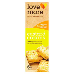 Lovemore Gluten Free Custard Creams