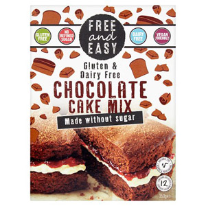 Free and Easy Gluten Free Chocolate Cake Mix