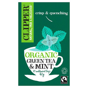 Clipper Organic Green Tea and Mint 20 Tea Bags