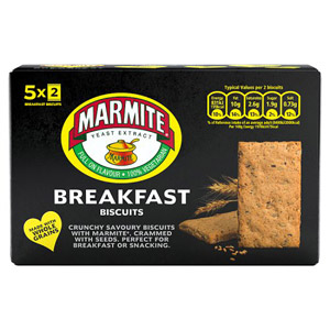 Marmite Breakfast Biscuits