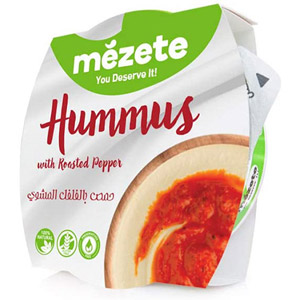 Mezete Roasted Pepper Hummus