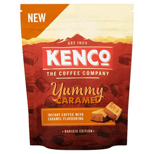 Kenco Yummy Caramel Flavoured Instant Coffee