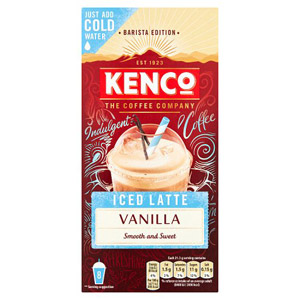 Kenco Iced Latte Vanilla Instant Coffee 8 Sachets