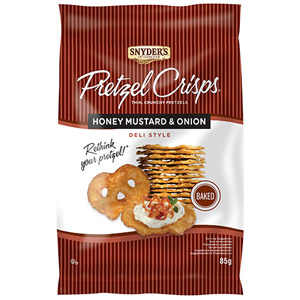 Snyders Pretzel Crisps Honey Mustard & Onion