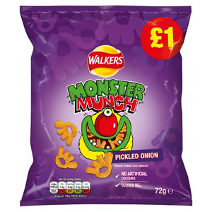 Monster Munch Pickled Onion Share Bag