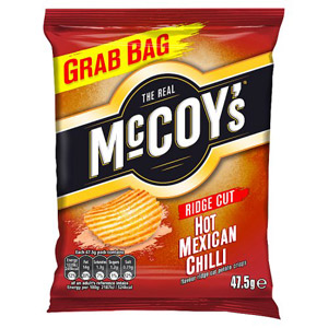 McCoys Hot Mexican Chilli Grab Bag