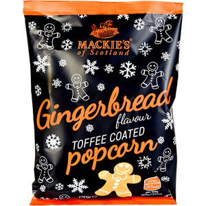 Mackies Gingerbread Toffee Popcorn