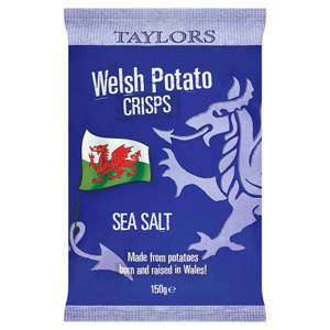Taylors Sea Salt Welsh Crisps