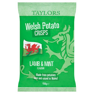 Taylors Lamb & Mint Welsh Crisps