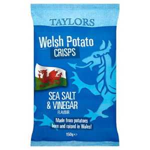 Taylors Sea Salt & Vinegar Welsh Crisps