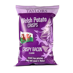 Taylors Crispy Bacon Welsh Crisps