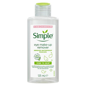 Simple Kind To Eyes Make Up Remover