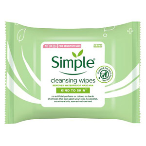 Simple Kind To Skin Cleansing Wipes 25 Pack