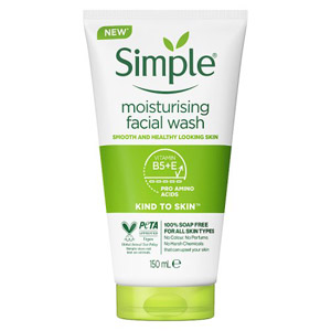 Simple Kind To Skin Moist Face Wash