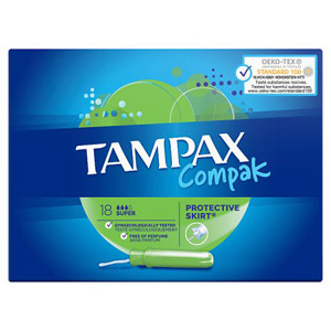 Tampax Compak Applicator Super 20 Pack
