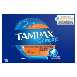 Tampax Compak Applicator Super Plus 20 Pack