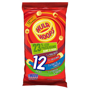 KP Hula Hoops Assorted 12 Pack