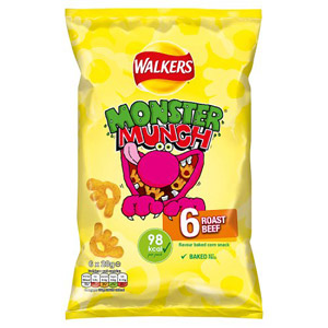 Monster Munch Roast Beef 6 Pack