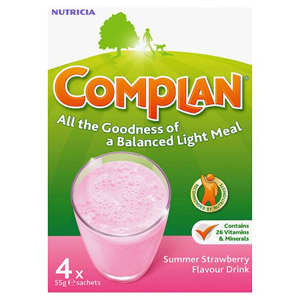 Complan Strawberry 4 Pack