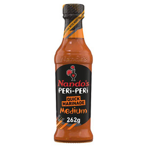 Nandos Medium Peri Peri Marinade For Chicken