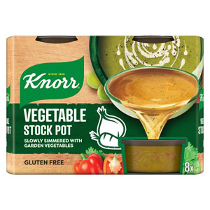 Knorr Vegetable Stock Gel Pots 8 Pack