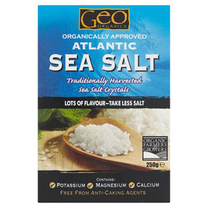 Geo Organic Atlantic Sea Salt