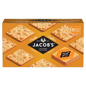 Jacobs Cream Cracker Snackpack 8 Pack