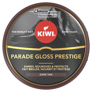Kiwi Dark Tan Parade Gloss Shoe Polish